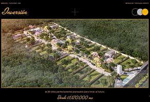 Foto de terreno habitacional en venta en mirador , del norte, mérida, yucatán, 0 No. 01