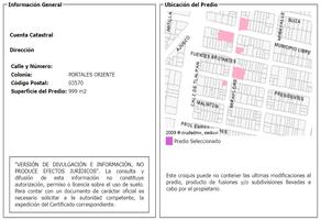 Foto de terreno habitacional en venta en miraflores , portales oriente, benito juárez, df / cdmx, 7137232 No. 01