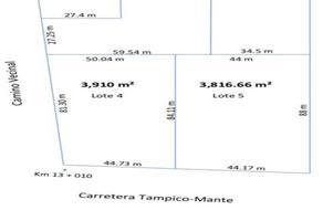 Foto de terreno habitacional en venta en  , miramar, altamira, tamaulipas, 14550332 No. 01