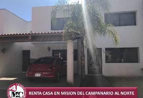 Foto de casa en renta en  , misión del campanario, aguascalientes, aguascalientes, 7060249 No. 01