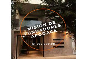 Foto de casa en venta en  , misión fundadores, apodaca, nuevo león, 18089341 No. 01