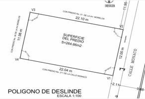 Foto de terreno habitacional en venta en mónaco , del carmen, benito juárez, df / cdmx, 17424926 No. 01