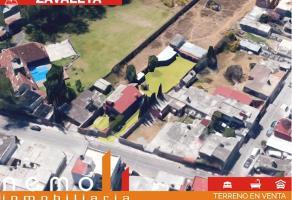 Foto de terreno habitacional en venta en monte alban , santa cruz buenavista, puebla, puebla, 0 No. 01