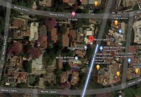 Foto de terreno habitacional en venta en monte everest , lomas de chapultepec ii sección, miguel hidalgo, df / cdmx, 17007174 No. 01