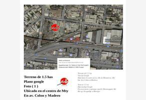 Foto de terreno comercial en venta en  , monterrey centro, monterrey, nuevo león, 5526779 No. 01
