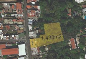 Foto de terreno habitacional en venta en morelos , cuernavaca centro, cuernavaca, morelos, 14202743 No. 01