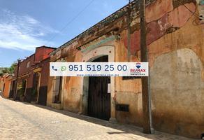 Foto de terreno comercial en venta en morelos , xochimilco, oaxaca de juárez, oaxaca, 8868080 No. 01