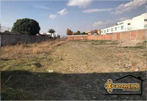 Foto de terreno comercial en venta en morillotla , morillotla, san andrés cholula, puebla, 6869455 No. 01