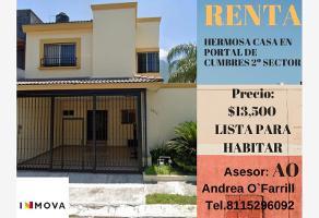 Foto de casa en renta en muaricio utrillo 00, misión cumbres 2 sector, monterrey, nuevo león, 0 No. 01