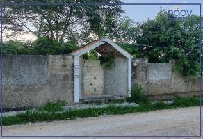 Foto de terreno habitacional en venta en mulchechén , mulchechen, kanasín, yucatán, 17551009 No. 01