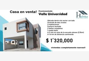 Foto de casa en venta en n/a , valle universidad, saltillo, coahuila de zaragoza, 0 No. 01