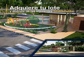 Foto de terreno habitacional en venta en nadira , conkal, conkal, yucatán, 0 No. 01