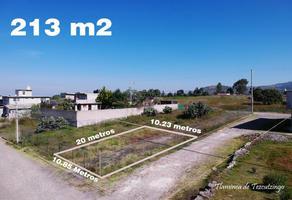 Foto de terreno habitacional en venta en nardo 11, san miguel tlaixpan, texcoco, méxico, 0 No. 01