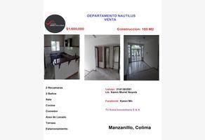 Foto de departamento en venta en nautilus 01, country club, manzanillo, colima, 0 No. 01