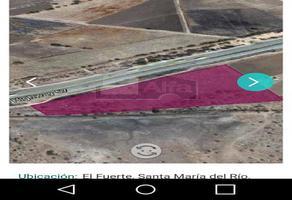 Foto de terreno industrial en venta en n/d n/d, el fuerte, santa maría del río, san luis potosí, 6006745 No. 01
