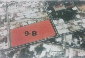 Foto de terreno habitacional en venta en niño artillero acera norte , tamulte de las barrancas, centro, tabasco, 4023864 No. 01