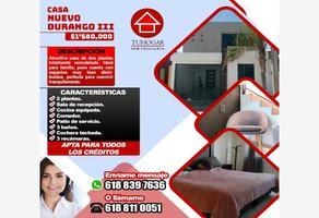 Foto de casa en venta en nogales 200, nuevo durango iii, durango, durango, 0 No. 01