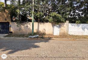 Foto de terreno habitacional en venta en nueva bruselas nd, lomas de cortes, cuernavaca, morelos, 17850720 No. 01
