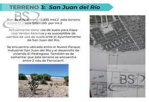 Foto de terreno habitacional en venta en  , nuevo san juan, san juan del río, querétaro, 0 No. 01