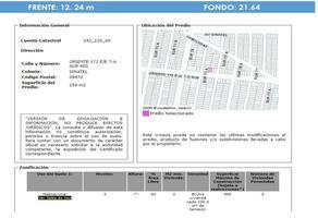 Foto de terreno comercial en venta en oriente 172 , sinatel, iztapalapa, df / cdmx, 21601531 No. 01
