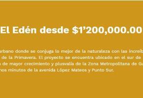 Foto de terreno habitacional en venta en paeo del eden , jardines del edén, tlajomulco de zúñiga, jalisco, 6895324 No. 01