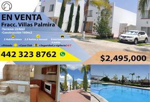 Foto de casa en venta en palma de guinea 102, villas palmira, querétaro, querétaro, 0 No. 01