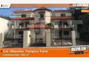 Foto de departamento en renta en palmas 106, altavista, tampico, tamaulipas, 0 No. 01