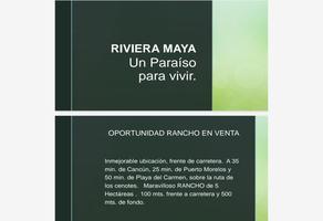 Foto de rancho en venta en  , paraíso maya, benito juárez, quintana roo, 0 No. 01