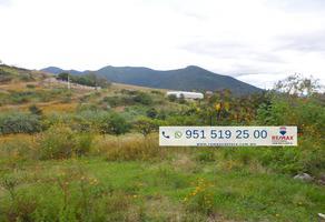Foto de terreno habitacional en venta en paraje agua salada , san andres huayapam, san andrés huayápam, oaxaca, 9145081 No. 01