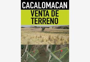 Foto de terreno habitacional en venta en paraje el cerrito 1000, cacalomacán, toluca, méxico, 0 No. 01