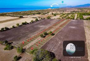 Foto de terreno habitacional en venta en paraje los alejos, bajos de chila , san pedro mixtepec -dto. 22 centro, san pedro mixtepec dto. 22, oaxaca, 19422429 No. 01