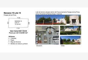 Foto de terreno habitacional en venta en  , parajes de los pinos, ramos arizpe, coahuila de zaragoza, 0 No. 01