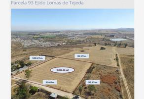 Foto de terreno habitacional en venta en parcela 93, lomas de tejeda, tlajomulco de zúñiga, jalisco, 0 No. 01