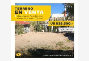 Foto de terreno habitacional en venta en paricutin , capistrano infonavit, tijuana, baja california, 0 No. 01
