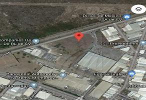 Foto de terreno habitacional en renta en  , parque industrial kalos, apodaca, nuevo león, 9885947 No. 01