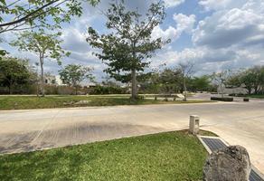 Foto de terreno habitacional en venta en parque natura , cholul, mérida, yucatán, 20186186 No. 01