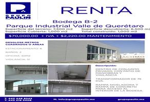 Foto de nave industrial en renta en  , parque querétaro 2000, querétaro, querétaro, 10502224 No. 01