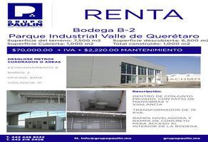 Foto de nave industrial en renta en  , parque querétaro 2000, querétaro, querétaro, 0 No. 01