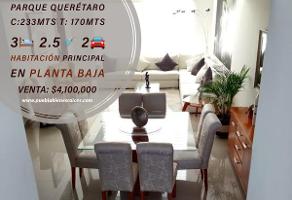 Foto de casa en venta en parque querétaro , lomas de angelópolis ii, san andrés cholula, puebla, 0 No. 01