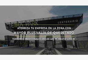 Foto de terreno industrial en venta en paseo centenario del ejército mexicano 1+37, desarrollo habitacional zibata, el marqués, querétaro, 0 No. 01