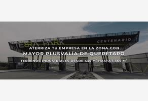 Foto de terreno industrial en venta en paseo centenario del ejército mexicano 52, desarrollo habitacional zibata, el marqués, querétaro, 0 No. 01