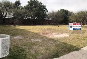 Foto de terreno habitacional en venta en paseo de la presa , residencial campestre club de golf sur, aguascalientes, aguascalientes, 13936336 No. 01