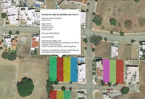 Foto de terreno habitacional en venta en paseo de las gardenias 15, paseo de la hacienda, colima, colima, 0 No. 01