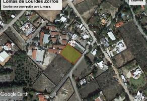 Foto de terreno habitacional en venta en paseo de los zorros s/n , lomas de lourdes, saltillo, coahuila de zaragoza, 0 No. 01