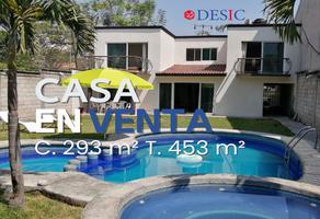 Foto de casa en venta en paseo de pozo 15, las fincas, jiutepec, morelos, 0 No. 01