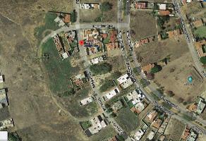 Foto de terreno habitacional en venta en paseo del sol 36 , cortijo de san agustin, tlajomulco de zúñiga, jalisco, 14855567 No. 01