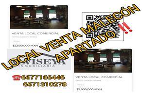 Foto de local en venta en paseo niños heroes 640, centro, culiacán, sinaloa, 0 No. 01