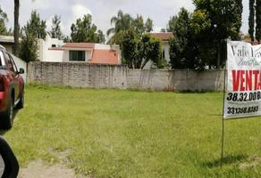 Foto de terreno habitacional en venta en paseo san arturo norte , valle real, zapopan, jalisco, 0 No. 01