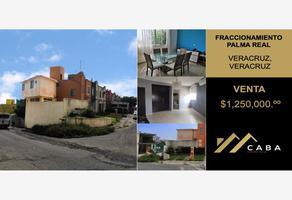 Foto de casa en venta en paseo tajín 108, palma real ii, veracruz, veracruz de ignacio de la llave, 0 No. 01