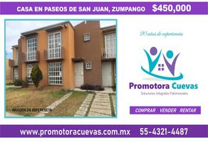 Foto de casa en venta en paseos de san juan 01, paseos de san juan, zumpango, méxico, 11653648 No. 01